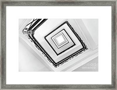 Staircase Framed Print