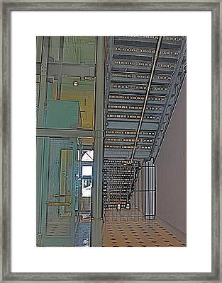 Staircase Framed Print by Alison Mae Photography
