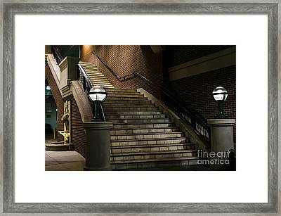 Staircase On The Blvd. Framed Print by Andrea Silies