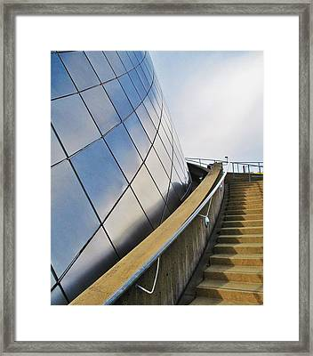Staircase To Sky Framed Print