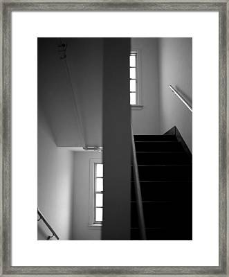 Staircase View Framed Print by Matthew Altenbach