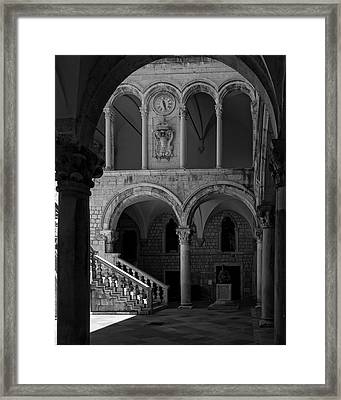Stairs .... Framed Print