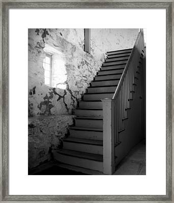 Stairs Framed Print by Bill Keiran