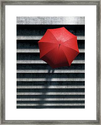 Stairs Framed Print by Cynthia Decker