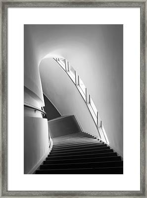 Stairs Framed Print by Liesbeth Van Der Werf