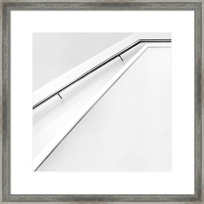 Stairs Lines Framed Print