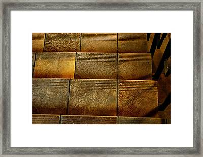 Framed Print featuring the photograph Stairs by Marilynne Bull