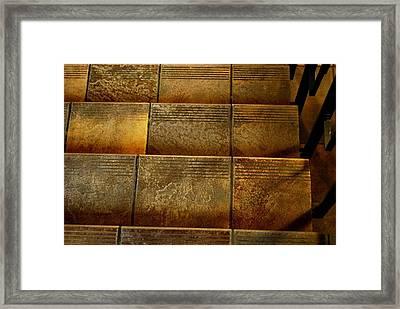 Stairs Framed Print by Marilynne Bull