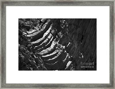 Stairs Of Time Framed Print