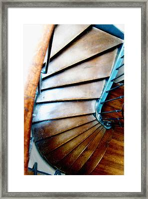 Stairs Paris Framed Print by Keith Campagna