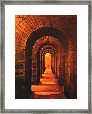 Stairs  Framed Print by Riek  Jonker