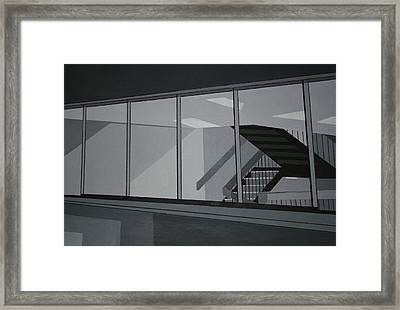 Stairs Framed Print by Ryan Flanagan