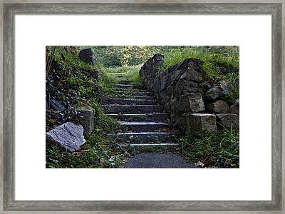 Stairs To . . .      Framed Print