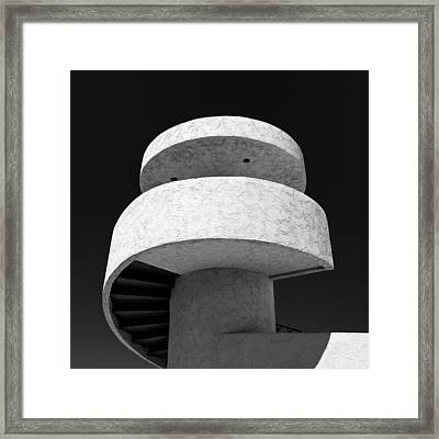 Stairs To Nowhere Framed Print by Dave Bowman