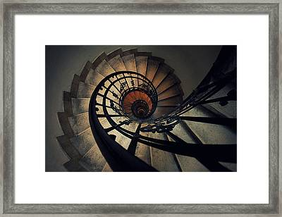 Stairs Framed Print by Zoltan Toth