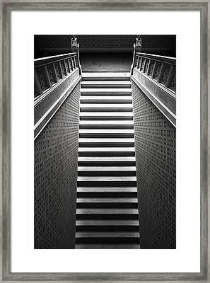 Stairway Framed Print by Bez Dan