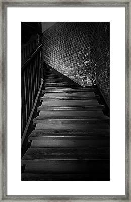 Stairway Framed Print by Ester  Rogers