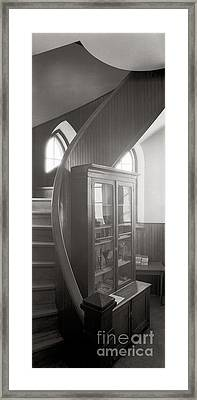 Stairway Framed Print by Lionel F Stevenson