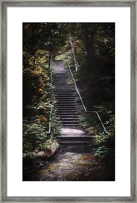 Stairway Framed Print by Scott Norris