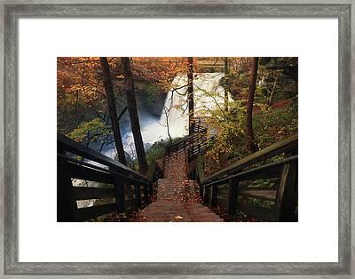 Stairway To Brandywine Framed Print