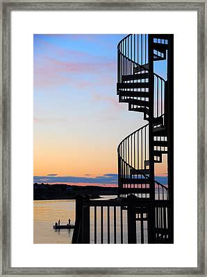 Stairway To Heaven Framed Print by AnnaJanessa PhotoArt
