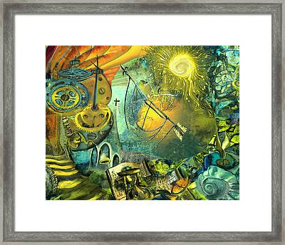 Stairway To Heaven Framed Print by Anne Weirich