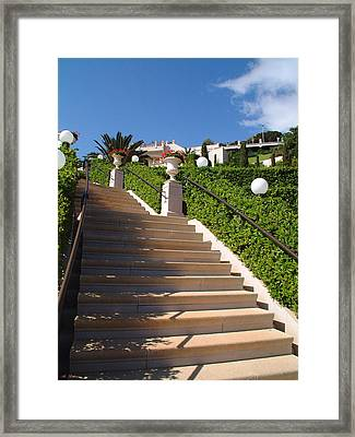 Stairway To Heaven Framed Print by Arik Baltinester