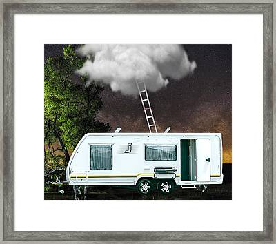 Stairway To Heaven Art Framed Print by Marvin Blaine