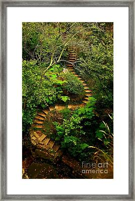 Stairway To Heaven Framed Print by Blair Stuart
