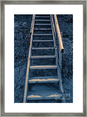 Stairway To Heaven Framed Print by Edward Fielding