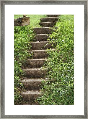 Stairway To Heaven Framed Print by Heather Green