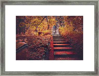Stairway To Heaven In Riga Latvia  Framed Print
