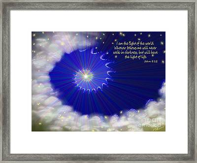 Stairway To Heaven Framed Print by Methune Hively