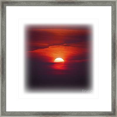 Stairway To Heaven On Transparent Background Framed Print by Terri Waters