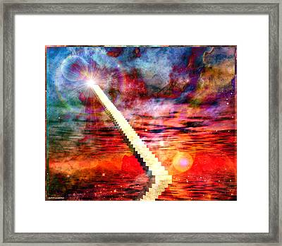 Stairway To Heaven Framed Print by RP Callahan