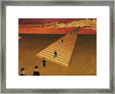 Stairway To Heaven Framed Print by Thomas Blood