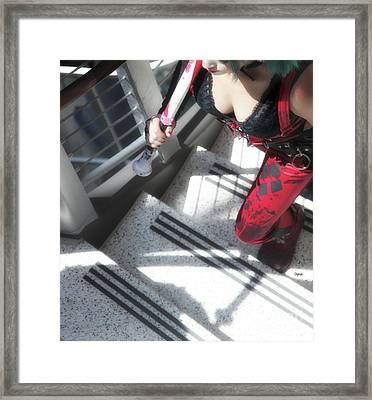 Stairway To Hell Framed Print