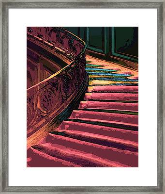 Stairway To Somewhere Framed Print