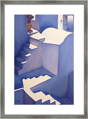 Stairways Framed Print by Patrick Parker