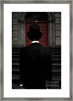Stairwell Of Darkness Framed Print by Jorgo Photography - Wall Art Gallery