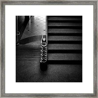 Stais And Hallway Framed Print by Bob Orsillo