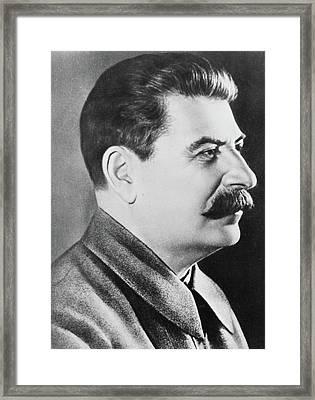 Stalin Framed Print