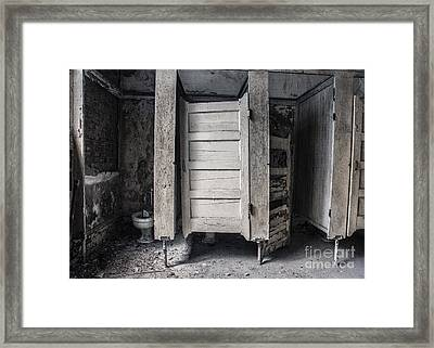 Framed Print featuring the mixed media Stalled II by Terry Rowe