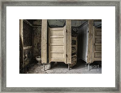 Framed Print featuring the mixed media Stalled by Terry Rowe