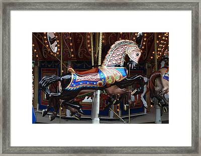 Framed Print featuring the photograph Stallion by Rob Hans