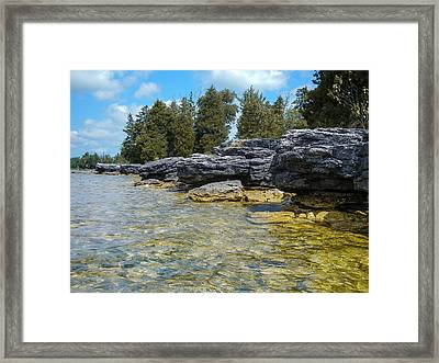 Stalwart Shore Framed Print