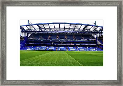 Stamford Bridge Framed Print by A Hundt