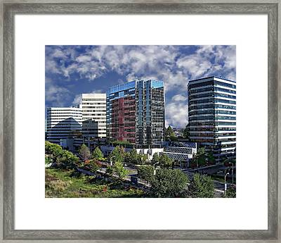 Stamford City Center Framed Print