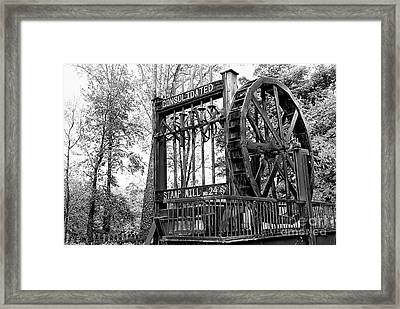 Stamp Mill 2 Framed Print