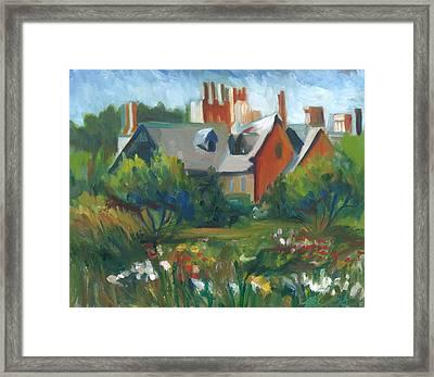 Stan Hywet Hall Framed Print